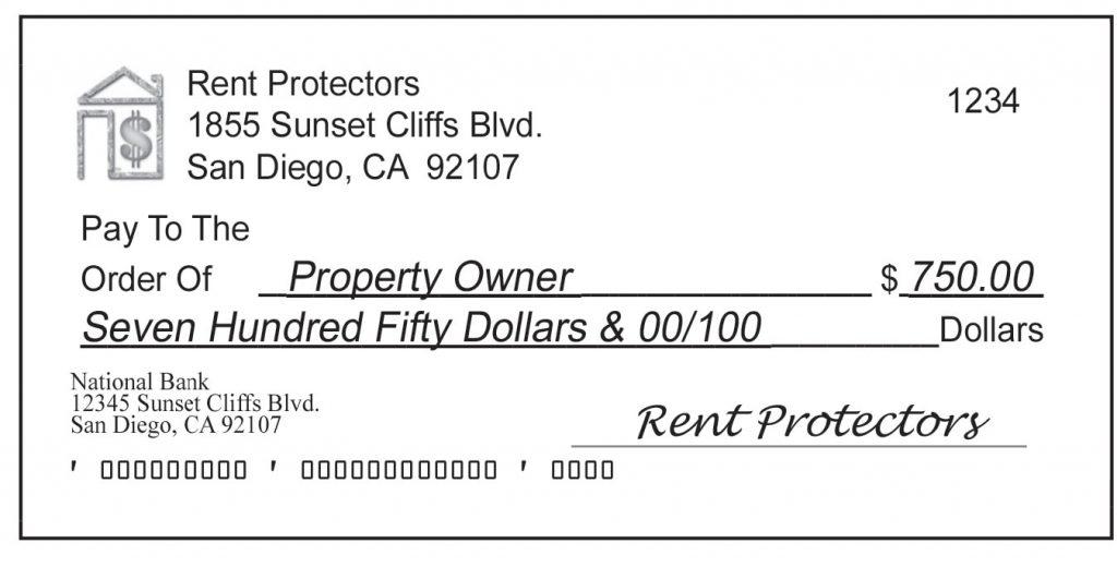 Rent Protectors - Check